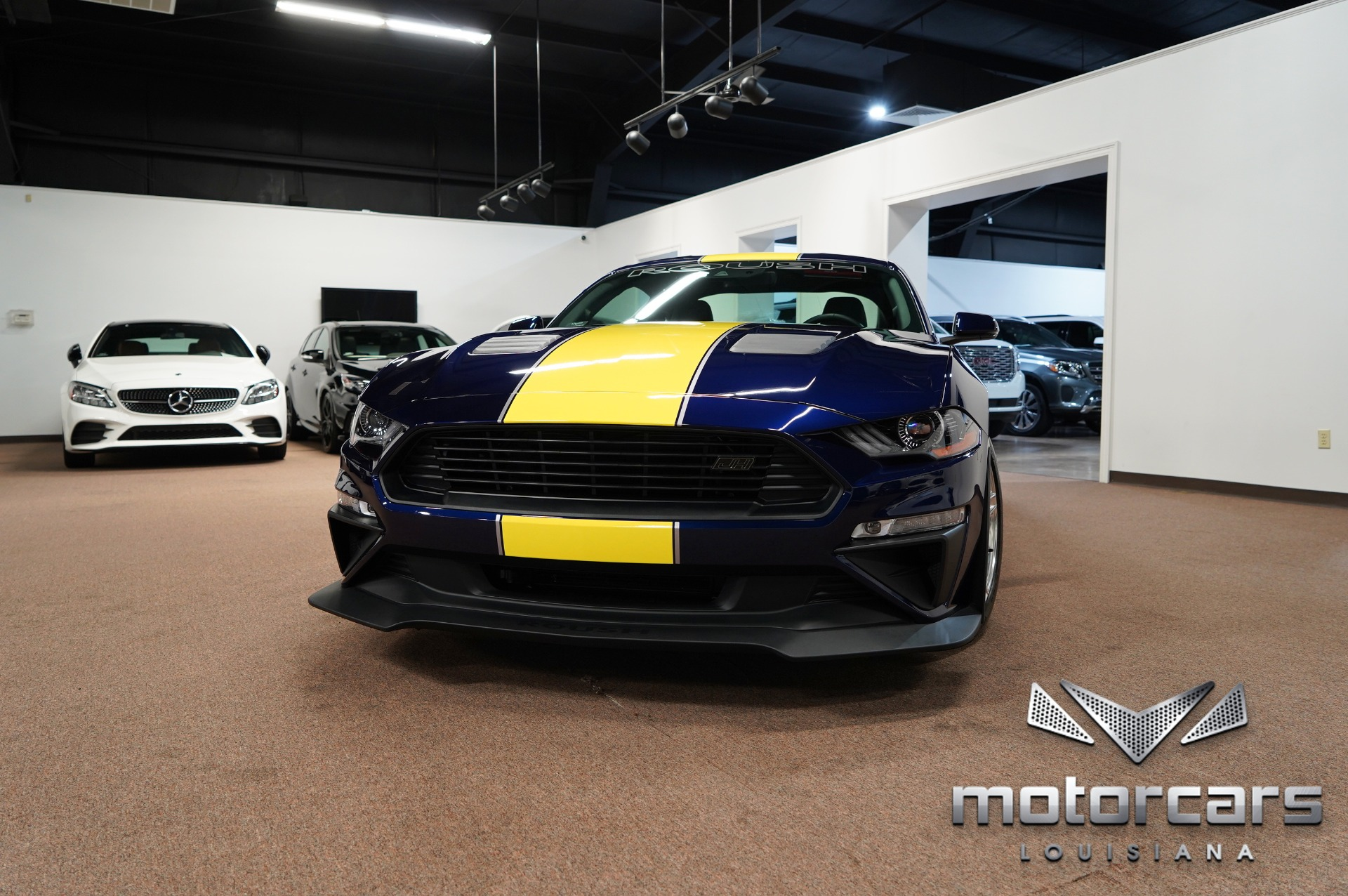 2018 Ford Mustang ROUSH Jackhammer Blue Angels Edition 1of1