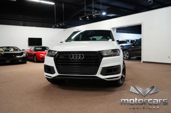 2019 Audi Q7 Black Optic